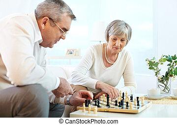 échecs, jouer