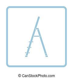 échelle, construction, icône