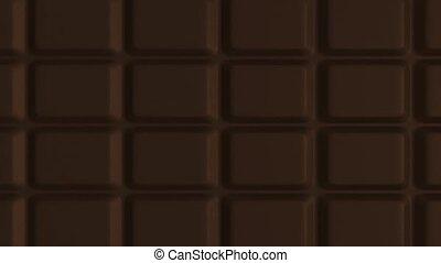 échelle salle bains, -, 3d, chocolat