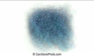 éclat, particules, luciole