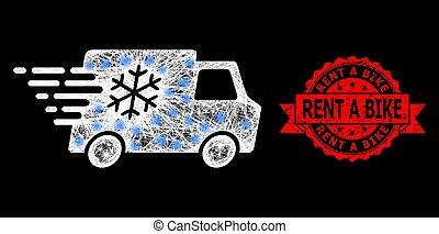 éclat, réfrigérateur, taches, clair, maille, timbre, voiture, toile, caoutchouc, vélo, loyer