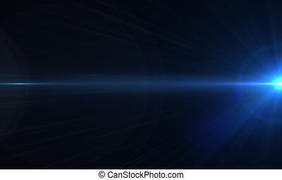 éclats (flares), optique