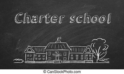 école, charte