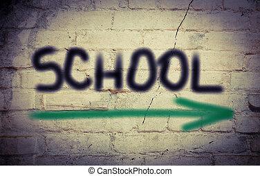 école, concept