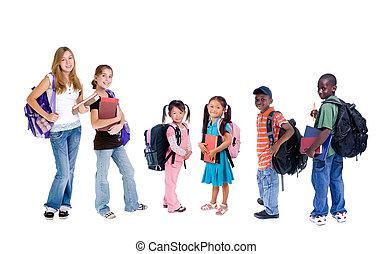 école, diversité