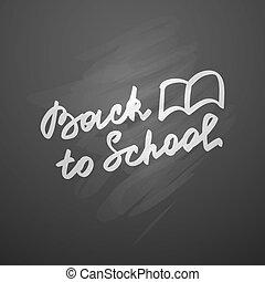 école, dos
