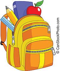 école, sac à dos