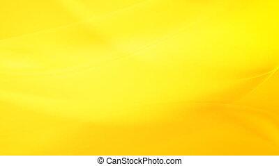 écoulement, jaune, animation, en mouvement, vagues, vidéo
