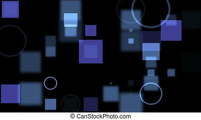 écran bleu, numérique