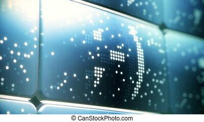 écran, réseau, social