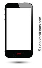 écran, smartphone