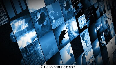 écrans, animation numérique