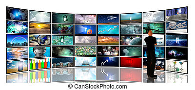 écrans, média