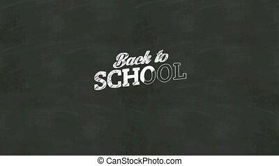 écriture, 'back, school'