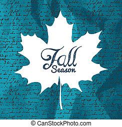 """écritures, feuille, texte, automne, """"fall, fond, season"""", eps1"""