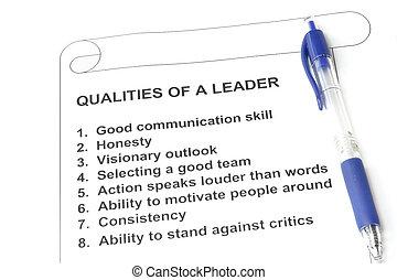 éditorial, qualities