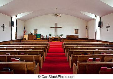 église pays, intérieur