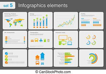 éléments, infographics