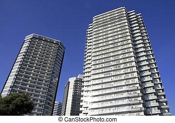 élévation élevée, condominium