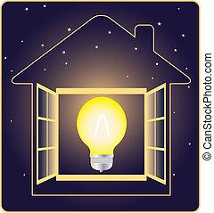 électricité, symbole