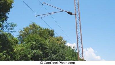 électrification, système, ferroviaire