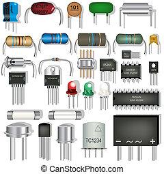 électronique, composants