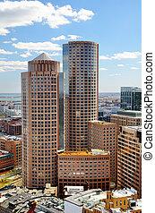 élevé, boston, ascensions