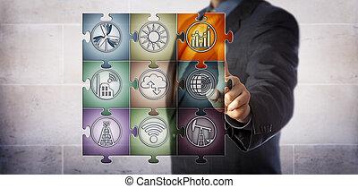 énergie, gestion, régler, intelligent, planificateur