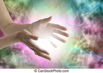 énergie, rayonner, guérison