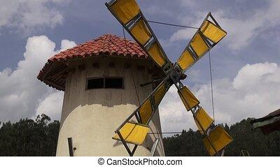 énergie, vent, éolienne, puissance, propre