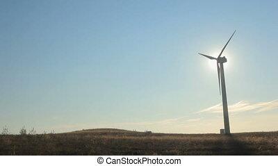 éolienne, fonctionnement