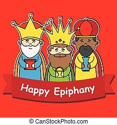 épiphanie, heureux