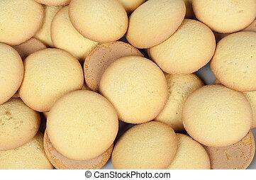 éponge, biscuit