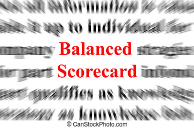 équilibré, carte score