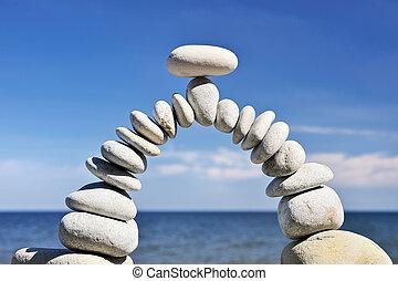 équilibre, air