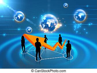 équipe, affaires mondiales