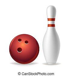 équipement, bowling