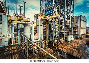 équipement, industrie, installation