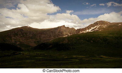 été, (1103), désert, montagne, défaillance, orage, temps