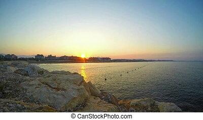 été, défaillance, méditerranéen, recours, temps, vidéo, levers de soleil