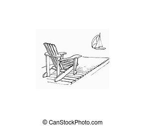 été, dock