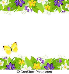 été, frontières, fleurs