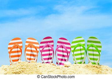 été, plage