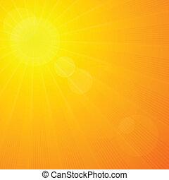 été, soleil