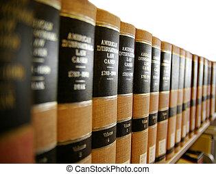 étagère, /, livre, livres, légal, droit & loi