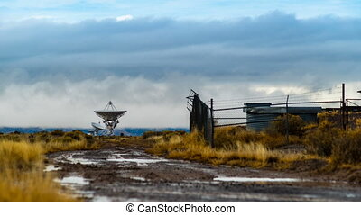 étalage, télescope radio