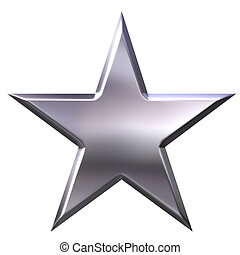 étoile, argent