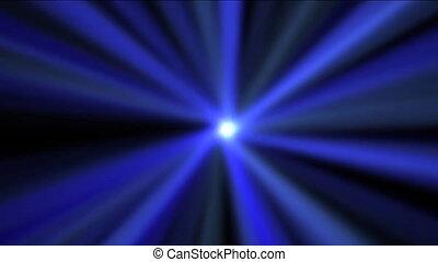 étoile bleue, briller, loopable