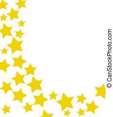 étoile, frontière, or, enjôleur