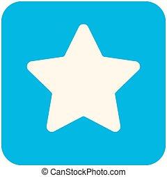étoile, icône